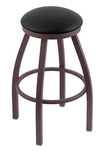 "41YmmWdwqYL - 802 Misha 25"" Counter Stool with Bronze Finish and Swivel Seat"