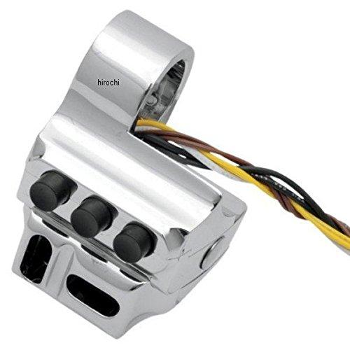 パフォーマンスマシン スイッチハウジング 5ボタン ハイドロ クラッチ側 96年-13年 FLH クローム PM3084 0062-2043-CH B01N404R2B