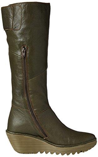 Fly London Kvinners Yule P500043012 Militærstøvler 8