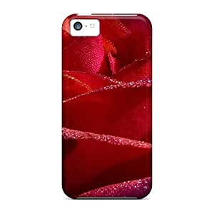 Premium Qzg14032Fpvj Cases With Scratch-resistant/ Red Roses 75 Cases Covers For Iphone 5c