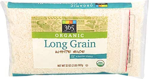 Rice: 365 Everyday Value Organic Long Grain White Rice