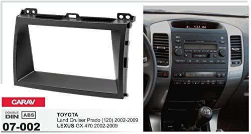 2002-2009 CARAV 07-002 2-DIN car head unit fascia facia installation dash kit for Land Cruiser Prado 120 LEXUS GX 470 2002-2009