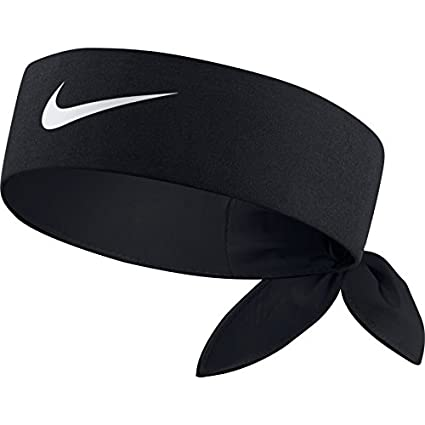 Amazon.com  NIKE TENNIS HEADBAND (BLACK BLACK WHITE 1c69466a062