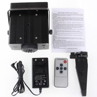 stage lighting 2-Colors Mini Disco DJ Club Stage Light with Sound Active Function by stage lighting (Image #4)