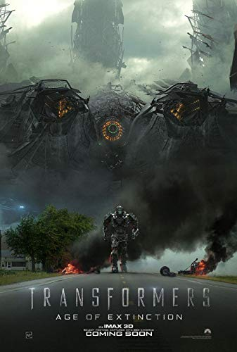 TRANSFORMERS AGE OF EXTINCTION MOVIE POSTER 2 Sided ORIGINAL Version B 27x40 ()