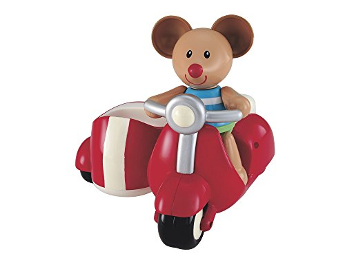 Early Learning Centre Toybox Max Mouse and Scooter Baby Toy