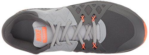 Nike Heren Lucht Epische Snelheid Tr Ii Crosstrainer Schoenen Donkergrijs / Zwart / Wolf Grijs / Hyper Oranje