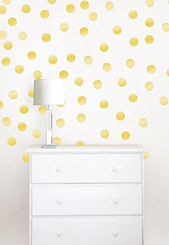 Wall Pops WPD1806 Metallic Gold Confetti Dots ()