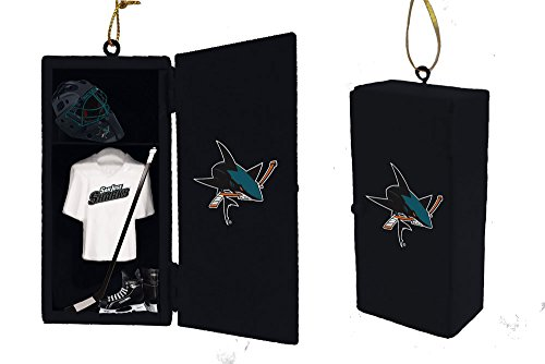 Team Sports America San Jose Sharks Team Locker Ornament