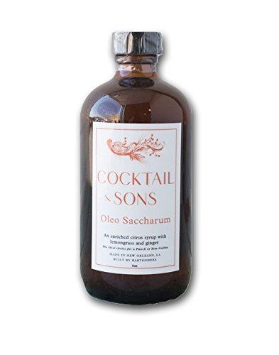 Cocktail & Sons Oleo Saccharum Syrup