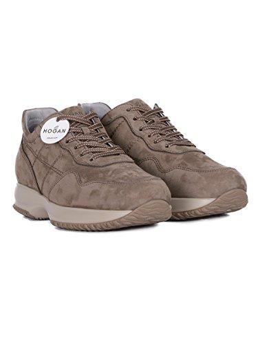 Hogan Mænd Hxm00n0j5916rns413 Brune Ruskind Sneakers 22HD87Ws