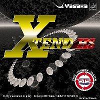 Yasaka x-tend HS Table Tennisラバー B003B75ZDQ ブラック MAX