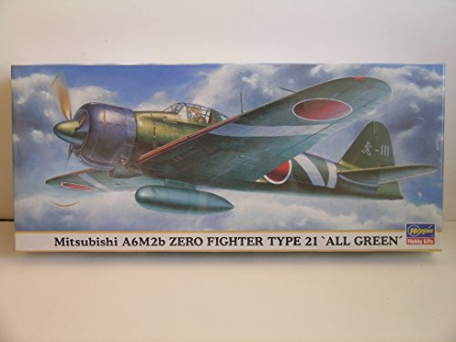Hasegawa Models---Japanese WW II Mitsubishi A6M2b
