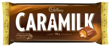 Cadbury Caramilk Milk Chocolate Bars - 24 x 52gram. Enjoy Cadbury classic milk chocolate caramel candy bar today. Imported from Canada