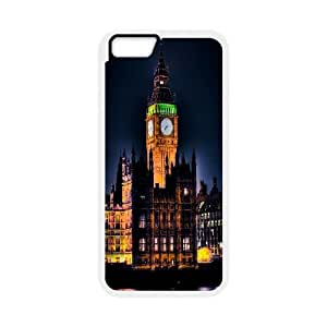 Best Phone case At MengHaiXin Store London Big Ben Pattern 200 For Apple Iphone 6 Plus 5.5 inch screen Cases