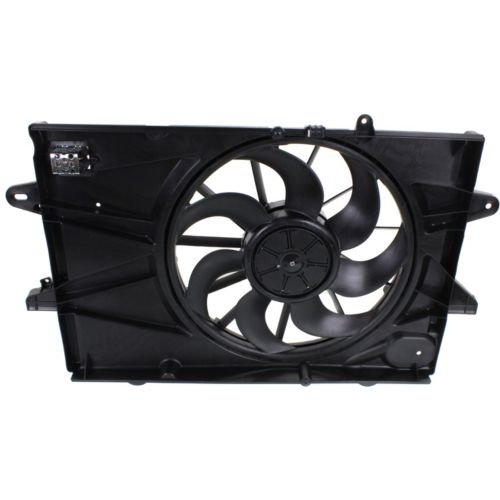MAPM Premium EQUINOX 10-14 RADIATOR FAN SHROUD ASSEMBLY, 2.4L Eng