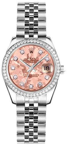 Women's Rolex Lady-Datejust 26 Diamond Luxury Watch Ref. 179384