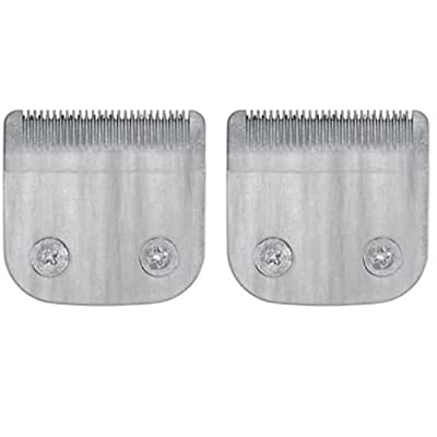 2 Pack Professional Trimmer Blade for Wahl Hair Clipper Detachable XL fits Model 9854L- 59300-800, 59300200, 59300800