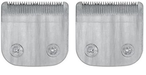 (2 Pack Professional Trimmer Blade for Wahl Hair Clipper Detachable XL fits Model 9854L- 59300-800, 59300200, 59300800)