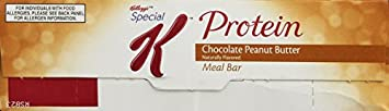 Special K Protein Meal Bar, Chocolate Peanut Butter 1.59-Ounce , 8-Count Bars Pack of 2