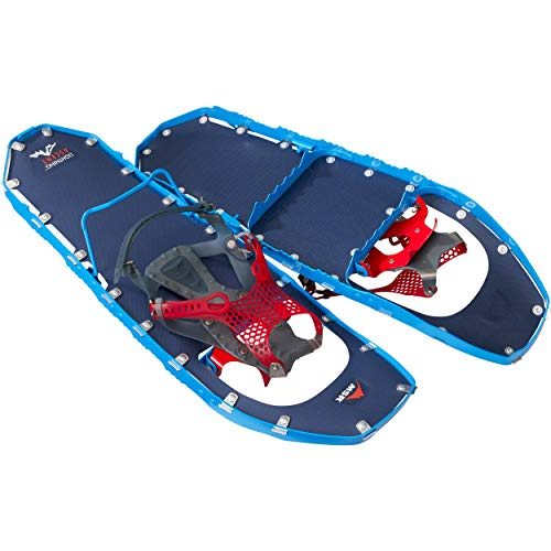MSR Lightning Ascent Backcountry & Mountaineering Snowshoes with Paragon Bindings, 25 Inch Pair, Cobalt Blue