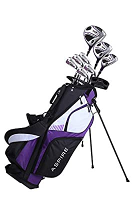Golf Club Set in Purple, Right Handed