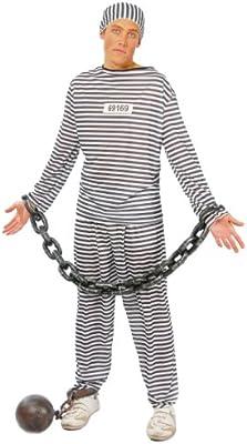 Disfraz Adulto PRESIDIARIO: Amazon.es: Juguetes y juegos