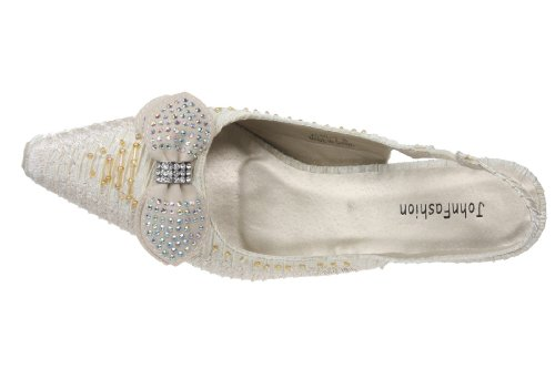 JohnFashion - Sandalias de vestir para mujer Beige
