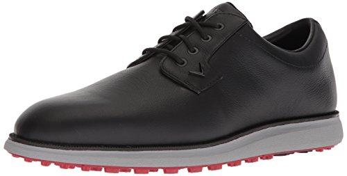 Callaway Mens Swami 2.0 Golf Shoe, Black/Red, 10 M (Callaway Golf Diablo Octane Rangefinder By Nikon)