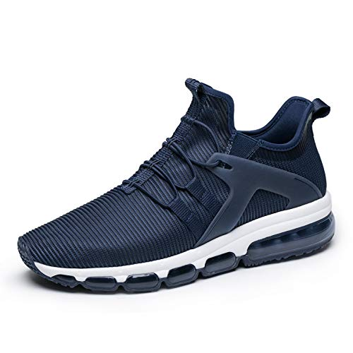 ONEMIX Mens Running Shoes Fashion Slip On Sneakers Breathable Mesh Athletic Lightweight Sports Walking Training Shoes