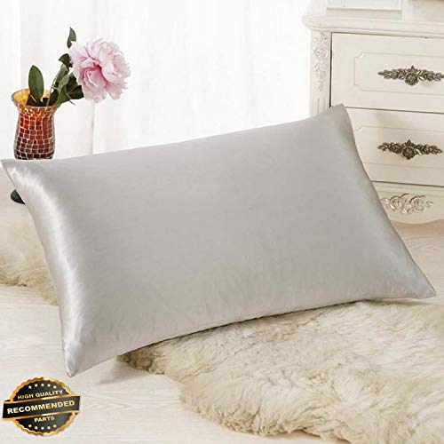 Kaputar Silk Sofa Bed Rectangle Cushion Cover Throw Pillow Case Pillowcase Simple Solid Pink | Style PLWCS-182012147