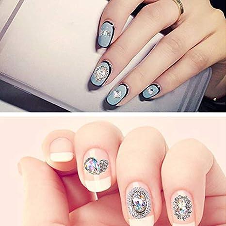 12pcs de decoración de uñas Arte para Mujer DIY Rhinestone Adorno Navidad Serie Parche Dorado Ruedas Ordenador Pastillas Cristal Pegatinas Decorativas ...