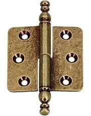 KOTARBAU 5907465905398 sierscharnieren, oud messing, 45 mm x 45 mm
