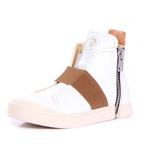 Diesel Men Zip Round S-Nentish Strap Sneakers Shoes mLMoEEax