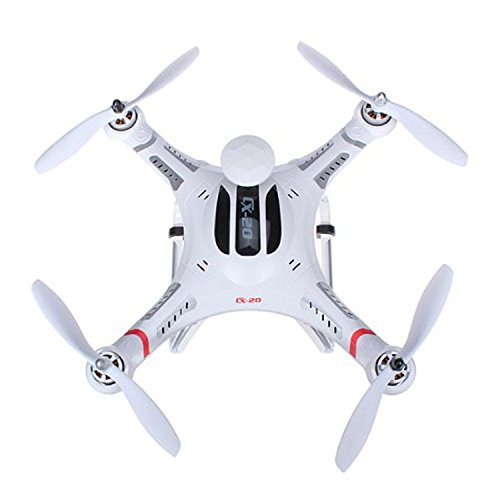 Cheerson CX-20 CX20 Auto-Pathfinder FPV RC Quadcopter Drone with GPS Auto-Return Function RTF - White
