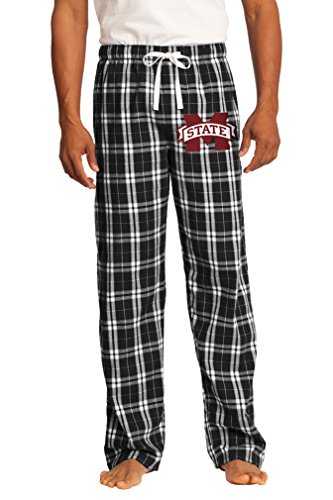 Mississippi State University Lounge Pants Pajama Bottoms Official MSU Bulldogs XL