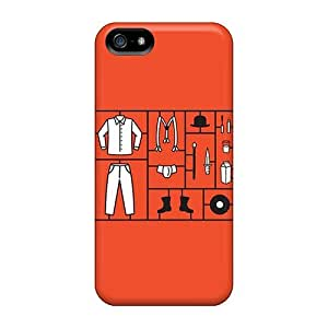5/5s Scratch-proof Protection Case Cover For Iphone/ Hot Clockwork Orange Phone Case