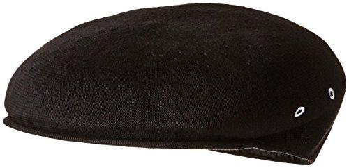 Fedora Hats Kangol (Kangol Men's Bamboo 7100 Over Sized Ivy Cap, Black, XL)