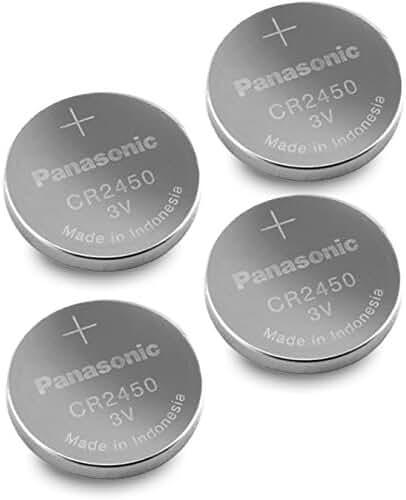 Panasonic Cr2450 Cr 2450 Lithium 3v Battery