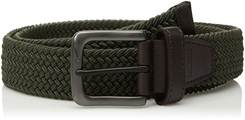 Nike Men's STRETCH WOVEN BELT Accessory, -cargo khaki, L