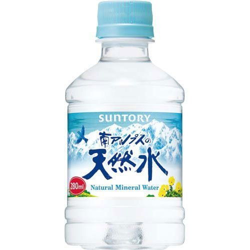 Natural water 280ml X 48 pieces of Suntory Foods Southern Alps by Suntory Foods Ltd.