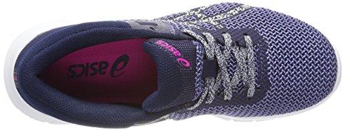 Asics Donna Scarpe Grigio 2 da Glow Jewel Nitrofuze Running Glacier Pink Persian Bleu Grey 4r4wp