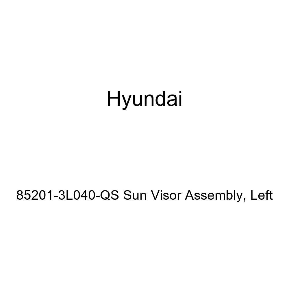 Left Genuine Hyundai 85201-3L040-QS Sun Visor Assembly