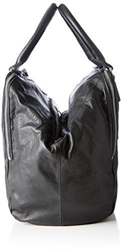 Liebeskind Berlin Kayla Am Vintag - Borse a secchiello Donna, Nero (Black), 22x28x32 cm (B x H T)