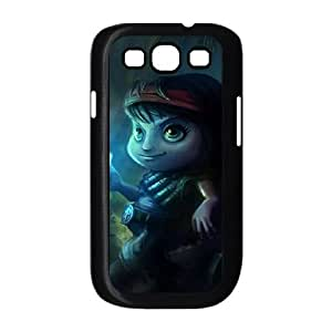 League of Legends(LOL) Guerilla Tristana Samsung Galaxy S3 9300 Cell Phone Case Black Phone Accessories LK_759839