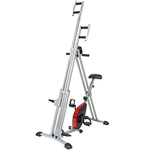 Total Body 2-IN-1 Vertical Climber Magnetic Exercise Bike Fitness Machine by BUY JOY (Image #6)'