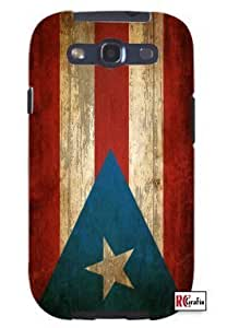 Cool Painting Distressed Puerto Rico Perto Rican National Flag Unique Quality Soft Rubber Case for Samsung Galaxy S4 I9500 - White Case