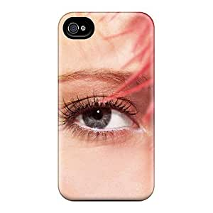 New Iphone 4/4s Case Cover Casing(close Up Eyes)