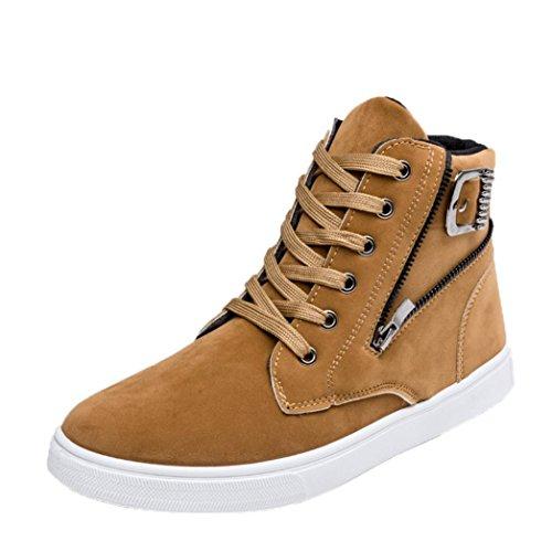 Aiuto Gli Caldi Inverno Scarpe Top zycShang Di Calzature Casual Moda Uomo Alta Stivali Scarpe Tela Sneakers Uomini In Giallo xEvY0w