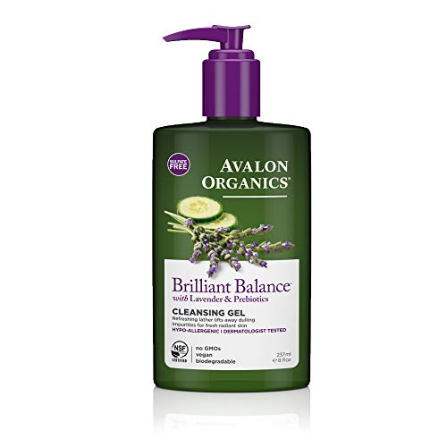 Avalon Organics Brilliant Balance Cleansing Gel, 8 oz.